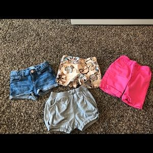 GAP 4T lot of girls shorts